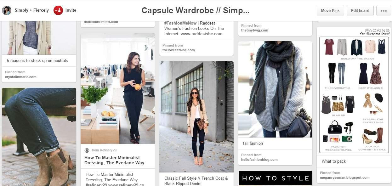 How to Pack for 7 Months Carry On Only - Capsule Wardrobe Pinterest