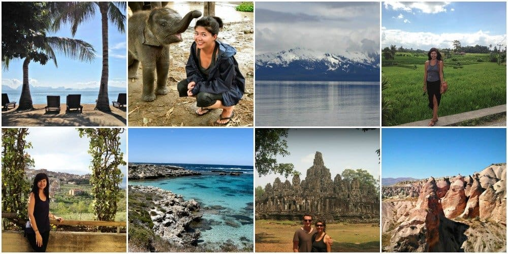 Simply + Fiercely - Travel Collage