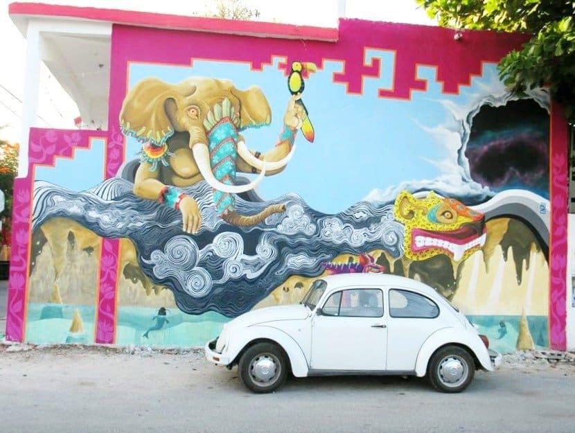 10 Day Yucatan Itinerary - Tulum Street Art