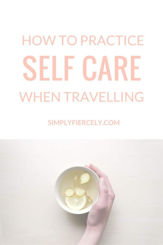 It's so easy to find yourself worn out or feeling not quite yourself when you're travelling - no matter how long the trip! The stress of being on the road means it's EXTRA important to take a few minutes out of your day to look after yourself. Here are a few tips to keep you feeling your best.