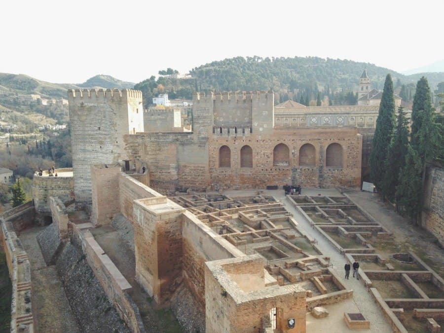 View of the Alcazaba. Click to see more photos + tips for planning your own trip to the Alhambra.