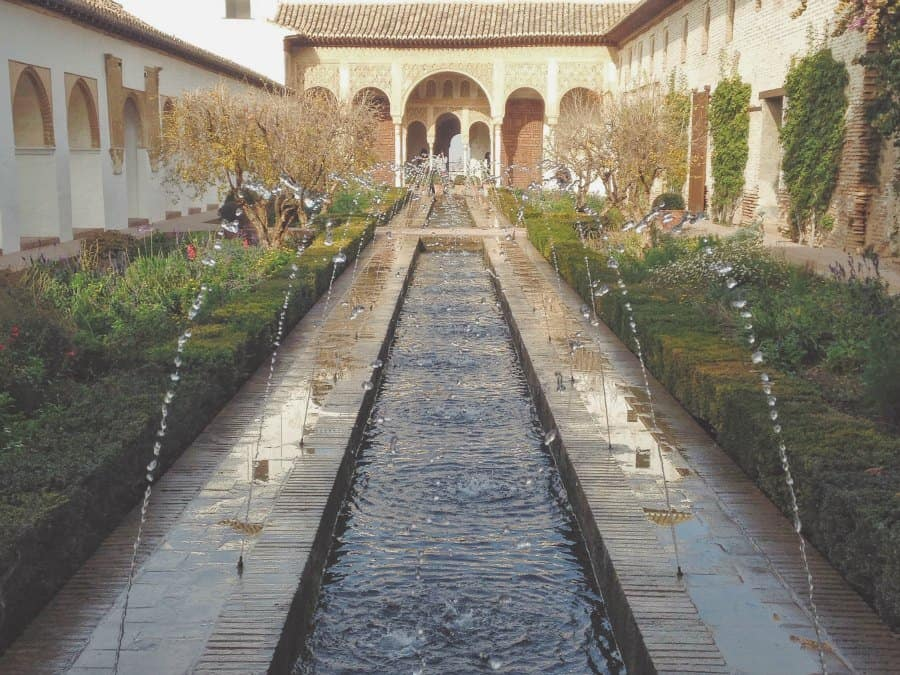 Alhambra - the Court of the Water Channel