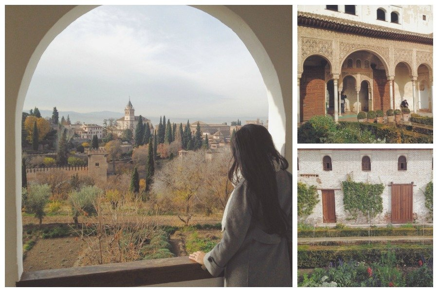 Alhambra - Generalife gardens