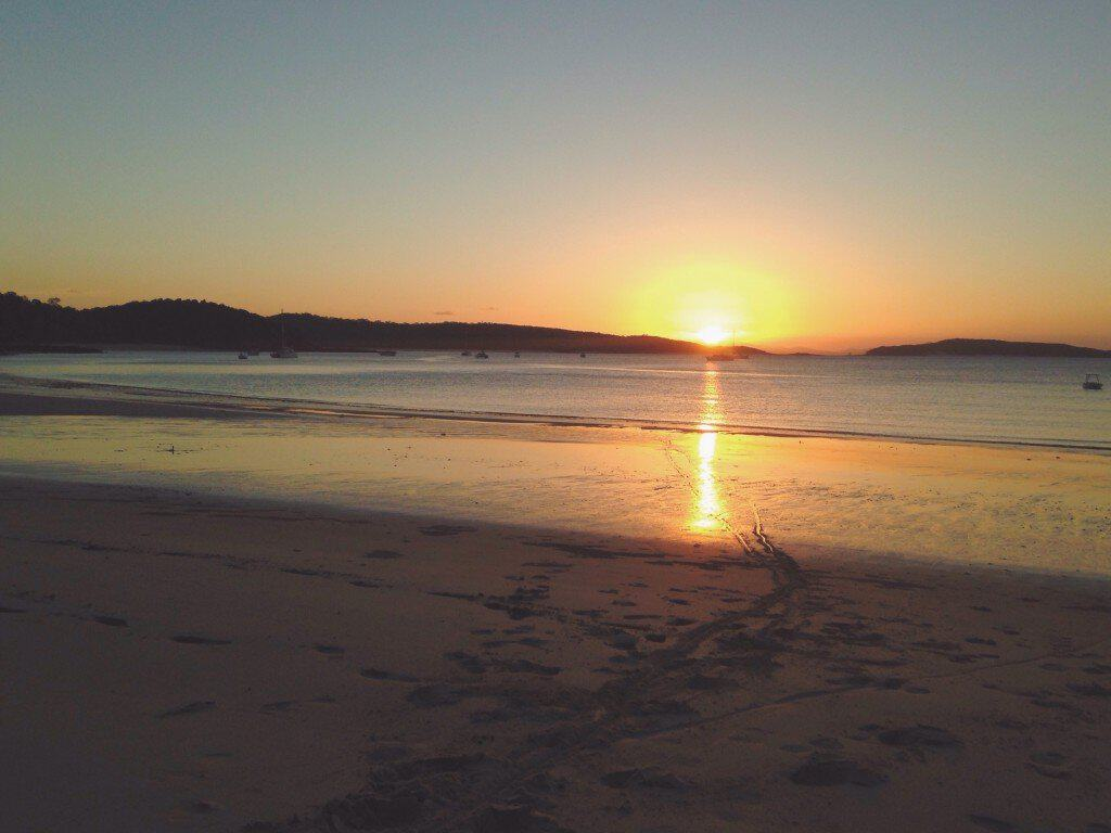 Simple lessons from a remote tropical island (Great Keppel Island on the Southern Great Barrier Reef, Australia.)