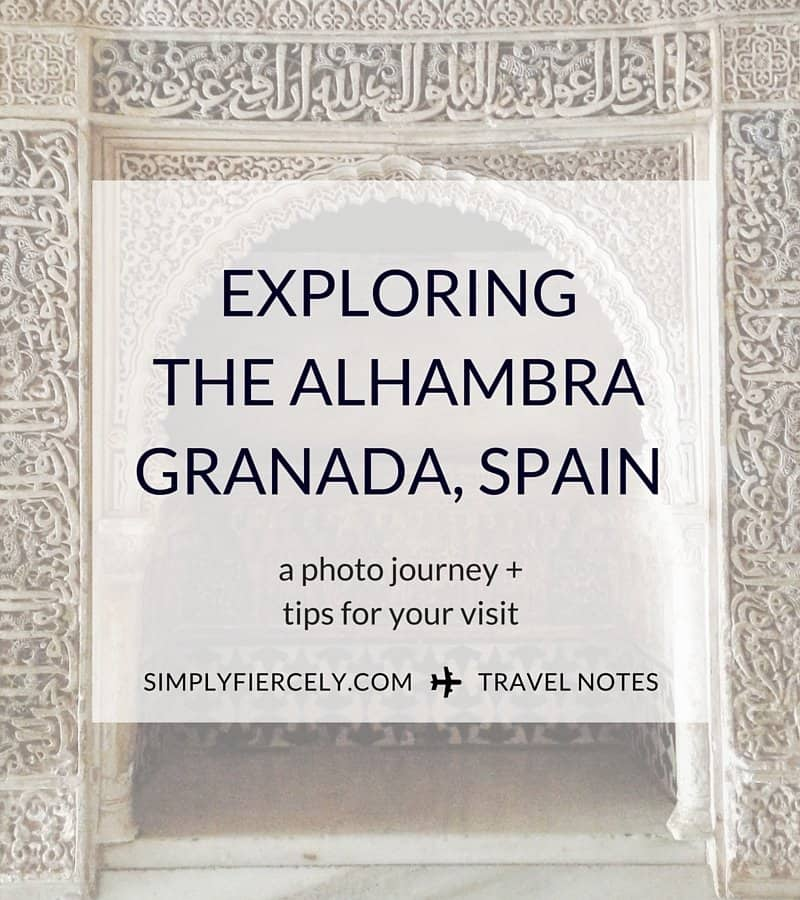 A photo journey through the Alhambra, Granada's moorish palace - plus tips for planning your visit.