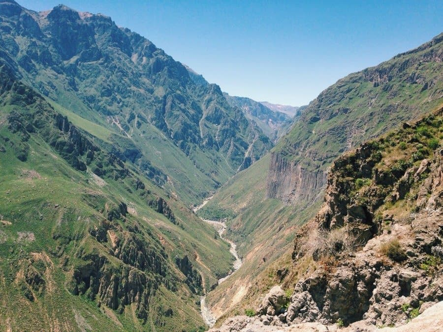 Showing up when times are tough isn't always easy - but more often than not it's worth it. I was reminded of this on a recent trek through Colca Canyon in Peru, one of the deepest canyons in the world (twice as deep as the Grand Canyon!)