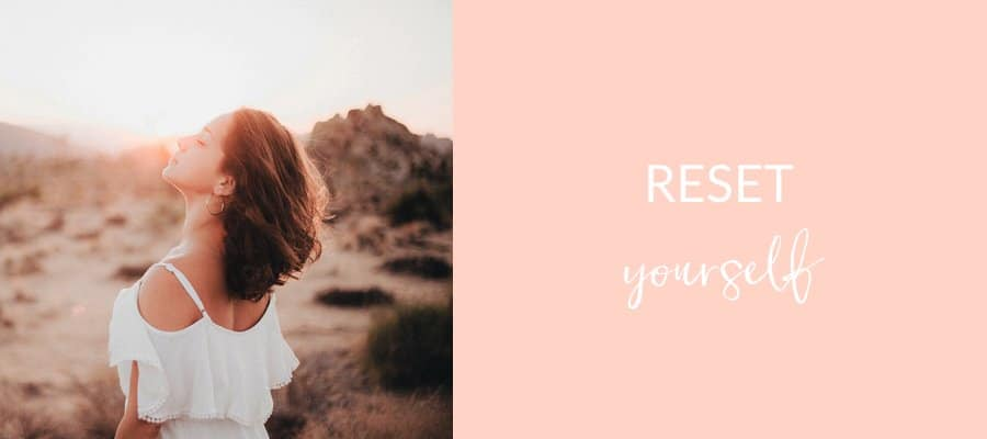 Are you living true to your heart or are you in survival mode? If you're in one of life's busy seasons, here are 6 simple steps to reset + thrive.
