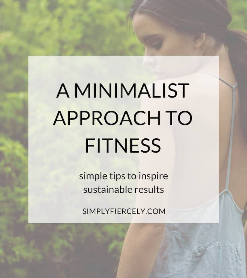 In this guest post, my friend Jen shares how she took a minimalist approach to fitness when she committed to losing 50 pounds last year.